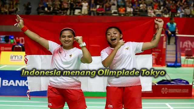 Indonesia menang Olimpiade Tokyo