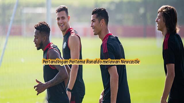 Pertandingan Pertama Ronaldo melawan Newcastle