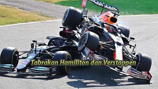 Tabrakan Hamiliton dan Verstappen