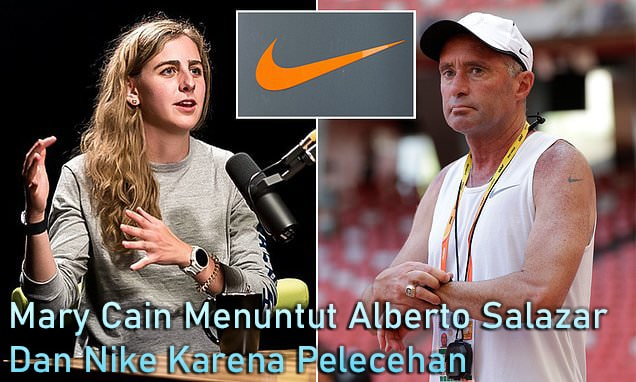 Pelari Jarak Jauh Mary Cain Menggugat Alberto Salazar, Nike Atas Dugaan Pelecehan