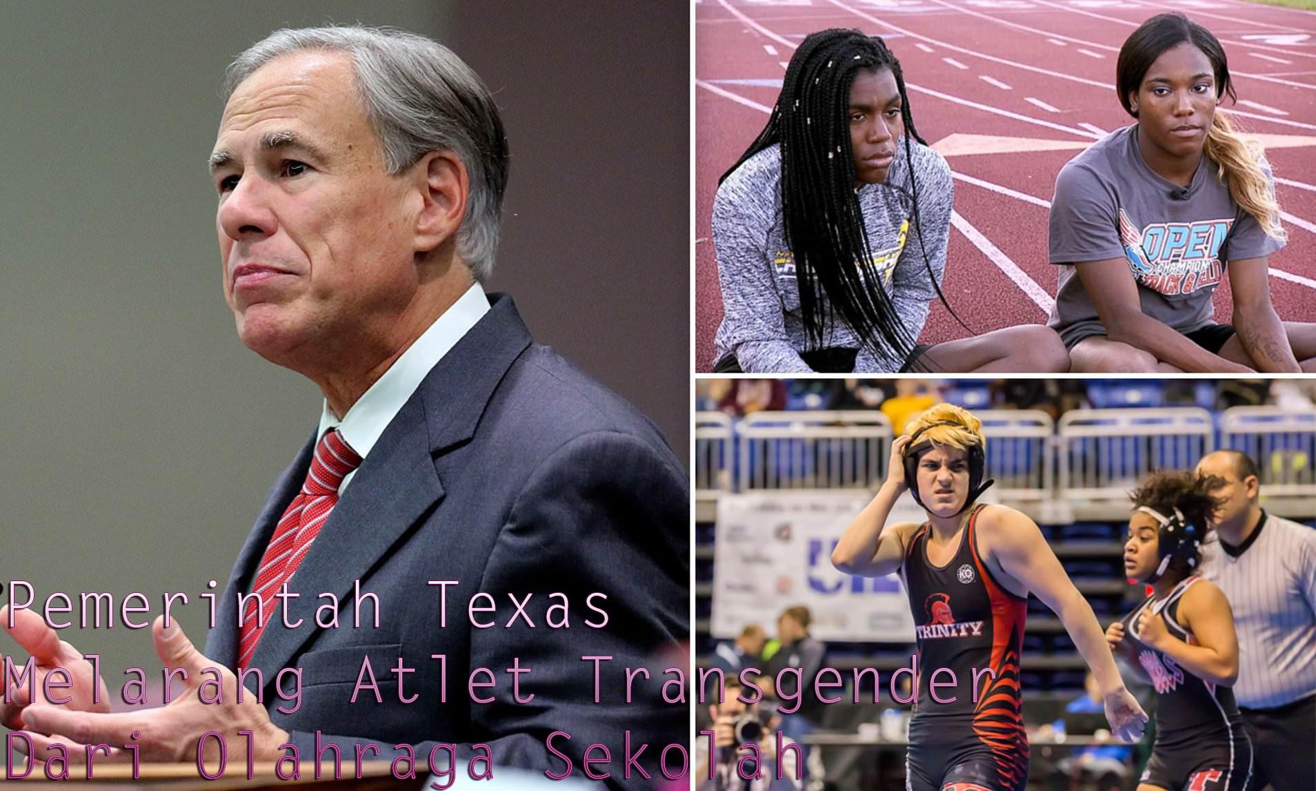 Pemerintah Texas Melarang Atlet Transgender Dari Olahraga Sekolah
